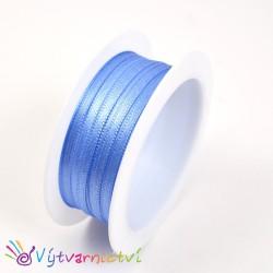 Saténová stuha světle modrá