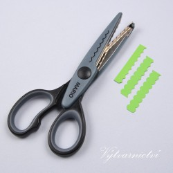 Ozdobné nůžky na papír Mario