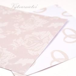 Svatební- ozdobný papír