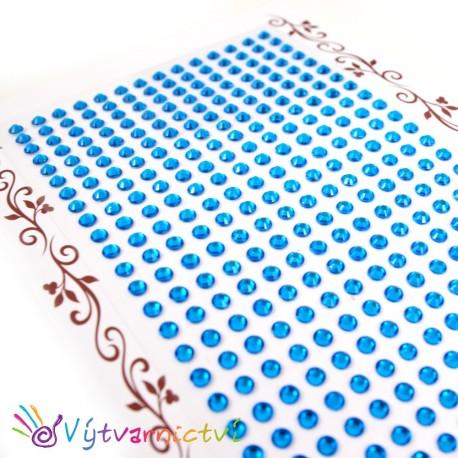 Třpytivé kamínky - modré (velké balení)