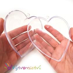 Srdíčko - plastová forma