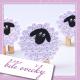 návod quillingové ovečky