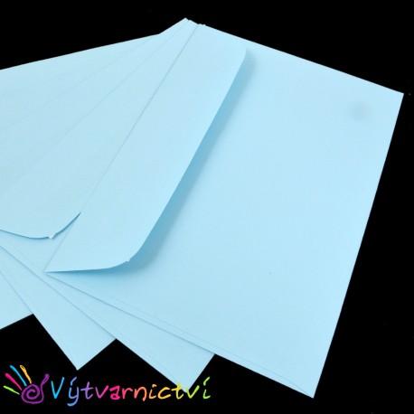 Světle modré obálky