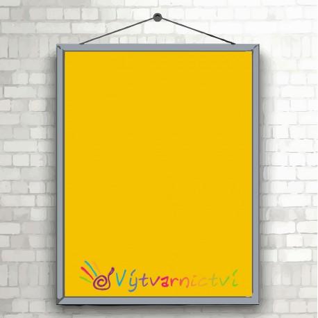 Tmavě žluté papíry