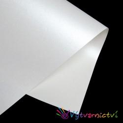 Bílý perleťový papír