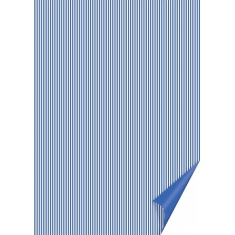 Papír s modrými proužky