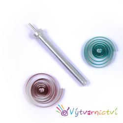 Celokovové quillingové pero kovové