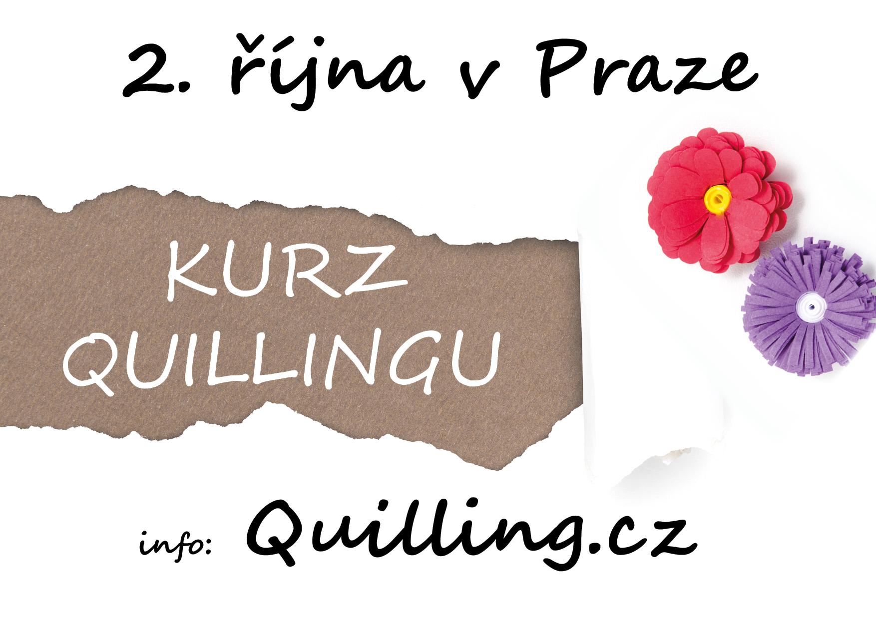 Kurz quillingu v Praze